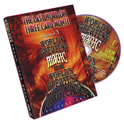 World's Greatest Magic: The Last Word on Three Card Monte Vol. 3 by L&L Publishing - DVD