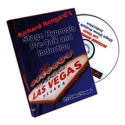 Stage Hypnosis Pre-Talk and Induction Las Vegas by Richard Nongard - DVD