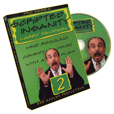 Scripted Insanity Volume 2 by Larry Davidson - DVD