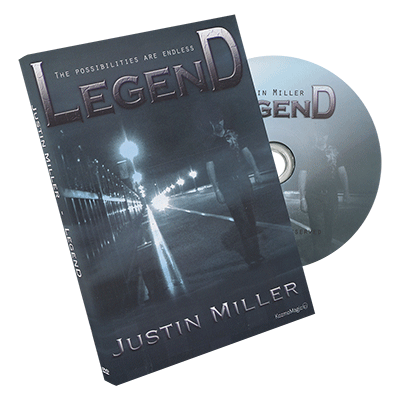 Legend (DVD and Gimmicks) by Justin Miller and Kozmomagic  - DVD