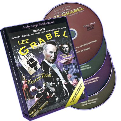 The Lee Grabel Archival Project (4 DVD Set) - DVD
