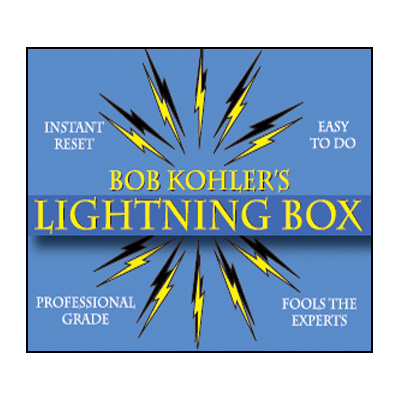 The Lightning Box (Props and DVD) by Bob Kohler - DVD