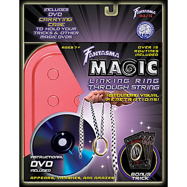 Linking Ring through String (W/ DVD) by Fantasma Magic - DVD