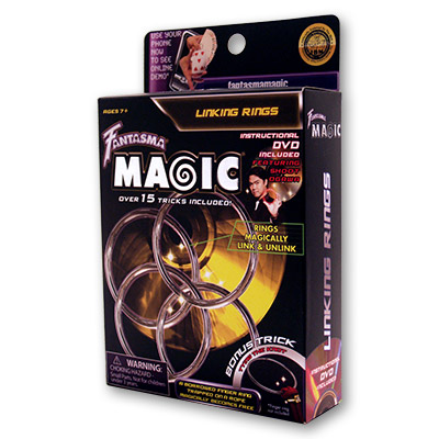 Aros Chinos (DVD & 4 Ring Set) - Shoot Ogawa & Fantasma Magic - DVD