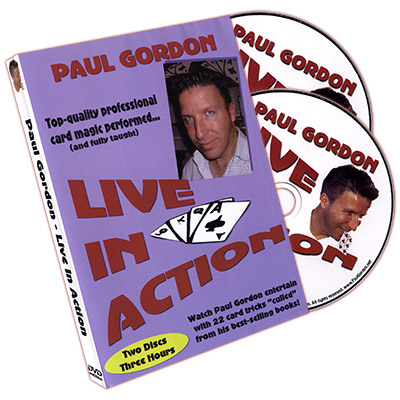 Live In Action (2 DVD Set) by Paul Gordon
