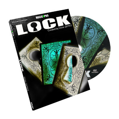 Lock (Blue version) by Victor Zatko - Trick