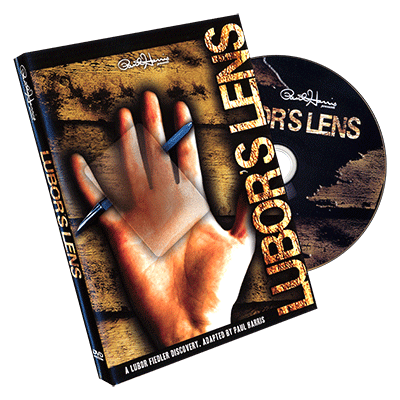 Lubors Lens - DVD and Gimmick by Paul Harris - DVD