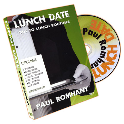 Lunch Date by Paul Romhany - DVD