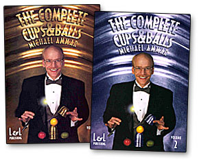The Complete Cups & Balls Michael Ammar - volume 1 DVD