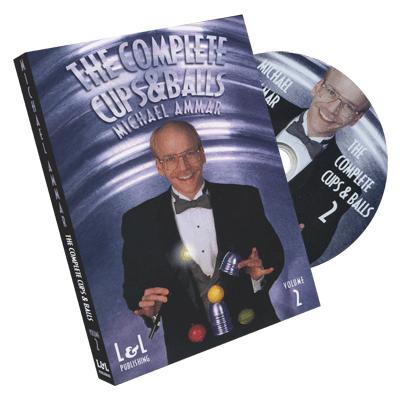 Cups & Balls Michael Ammar- #2, DVD