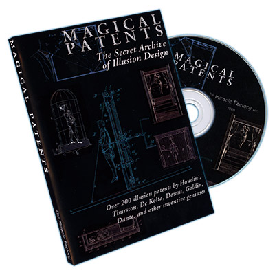 Magical Patents: Secret Archive of Illusion Secrets (CD)
