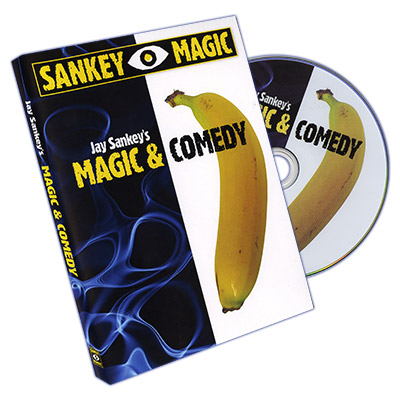 Magic and Comedy by Jay Sankey - DVD