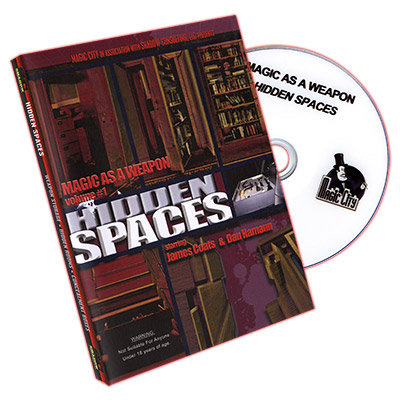 Magic As A Weapon: Hidden Spaces - DVD