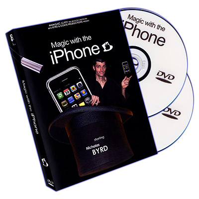 Magic With The iPhone by Nicholas Byrd - DVD