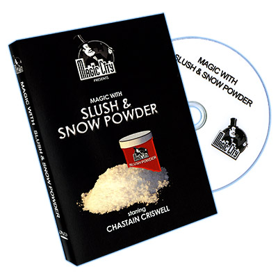 Magic With Slush and Snow Powder by Chastain Chriswell - DVD
