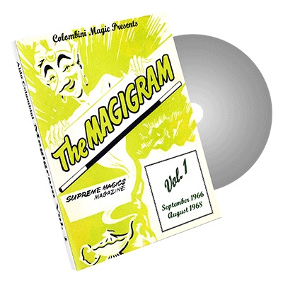 Magigram Vol. 1 by Wild-Colombini Magic - DVD