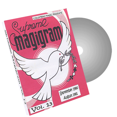 Magigram Vol.13 by Wild-Colombini Magic - DVD
