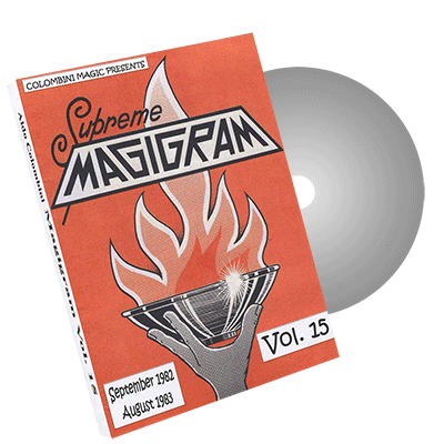 Magigram Vol.15 by Wild-Colombini Magic - DVD