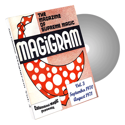 Magigram Vol.3 by Wild-Colombini Magic - DVD