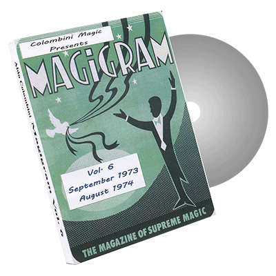 Magigram Vol.6 by Wild-Colombini Magic - DVD