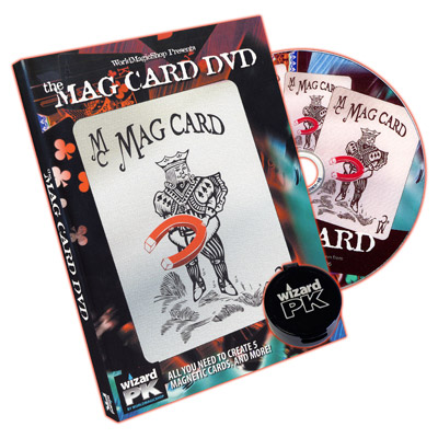 Mag Card DVD (with Props) - DVD