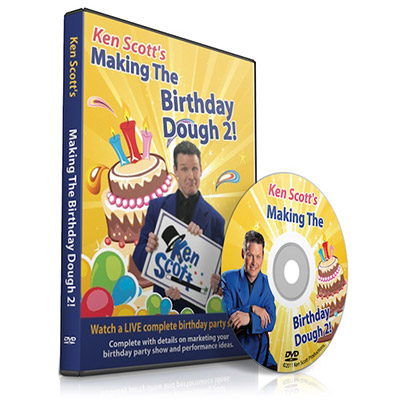 Making the Birthday Dough 2.0 by Ken Scott - DVD