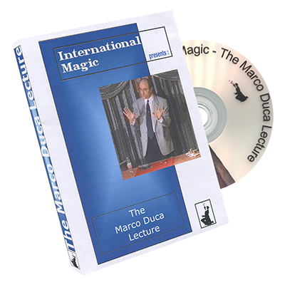 Marco Duca Lecture by International Magic - DVD