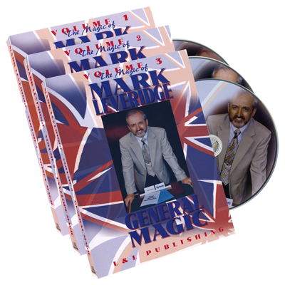Magic of Mark Leveridge Vol 1-3  - DVD