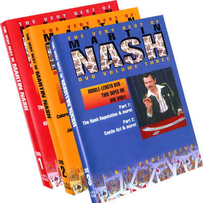 Very Best of Martin Nash Vol 1-3 - DVD