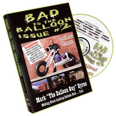 Bad To The Balloon #2 by Mark Byrne - DVD
