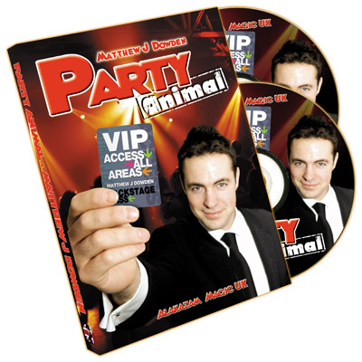 Party Animal (2 DVD Set) by Matthew J. Dowden - DVD