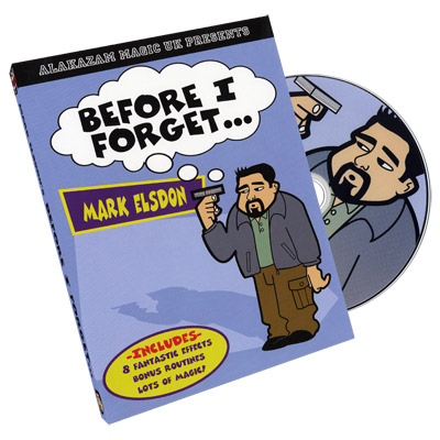 Before I Forget by Mark Elsdon - DVD