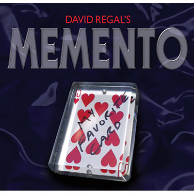 Memento (Gimmick and DVD) by David Regal - DVD