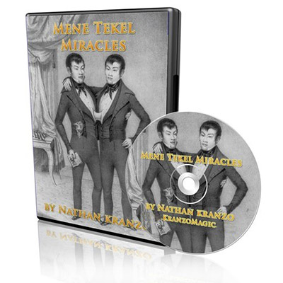 Mene Tekel Miracles (DVD and Decks) by Nathan Kranzo - DVD