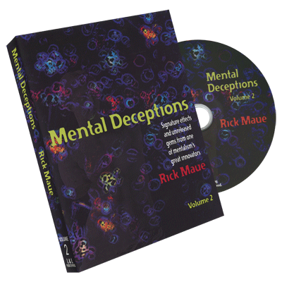 Mental Deceptions Vol.2 by Rick Maue - DVD