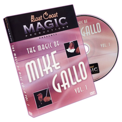 Magic Of Mike Gallo - Vol. 1 by Mike Gallo - DVD