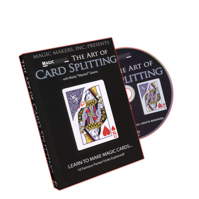 Art of Card Splitting by Magic Makers Inc. - DVD