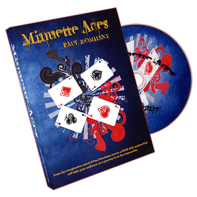 Minuette Aces by Paul Romhany - DVD