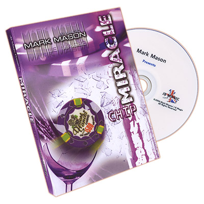 Miracle Chip (US Half Dollar and Poker Chip) by Mark Mason and JB Magic - DVD