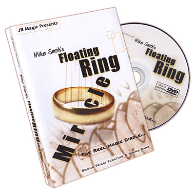 Miracle Floating Ring by Mike Smith and JB Magic - DVD