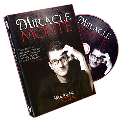 Miracle Monte (20 Bicycle Cards & DVD)  - Wolfgang Moser & Vanishing Inc. - DVD
