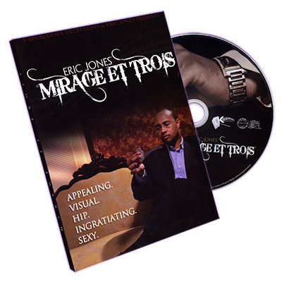 Mirage Et Trois by Eric Jones - DVD