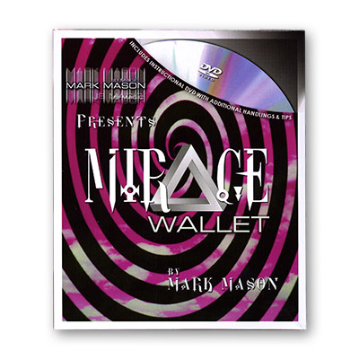 Mirage Wallet (With DVD) by Mark Mason and JB Magic - DVD