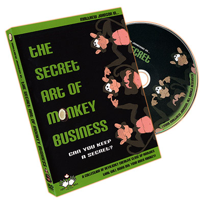 The Secret Art Of Monkey Business by Matthew Johnson - DVD