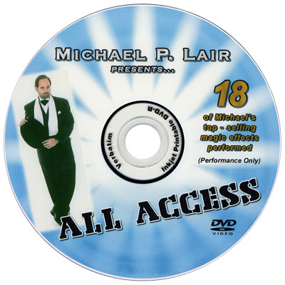 All Access by Michael Lair - DVD