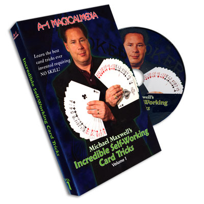 Incredible Self Working Card Tricks Volume 1 by Michael Maxwell - DVD