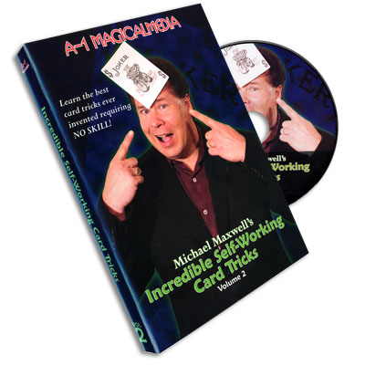 Incredible Self Working Card Tricks Volume 2 by Michael Maxwell - DVD