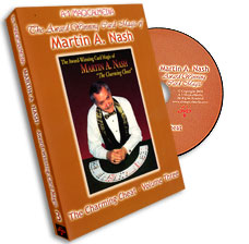 Award Winning Card Magic of Martin Nash - A-1- #3, DVD