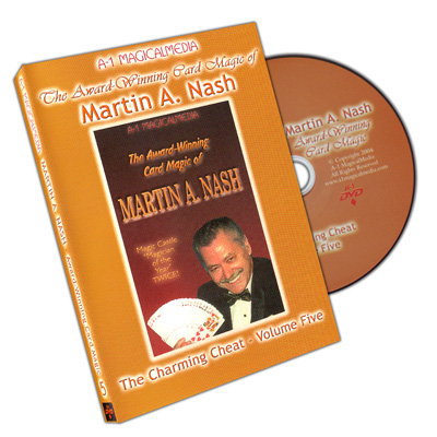 Award Winning Card Magic of Martin Nash - A-1- #5, DVD