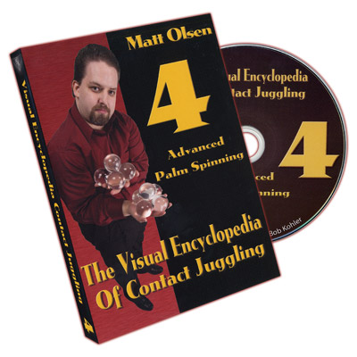 Visual Encyclopedia of Contact Juggling #4 - DVD